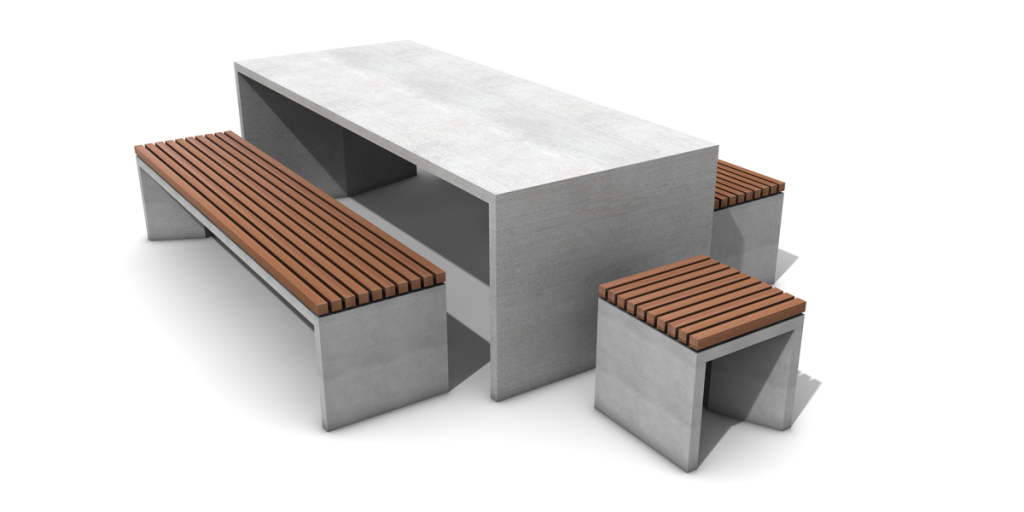 Betontisch SLIC TABLE