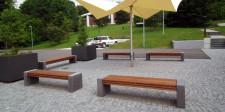 Betonbank PER 200, Bodensee Wasserversorgung, Sipplinger Berg